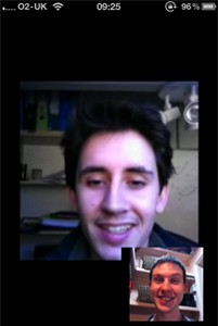 Yahoo! Messenger, ahora con videochat en iPod Touch 4G 3