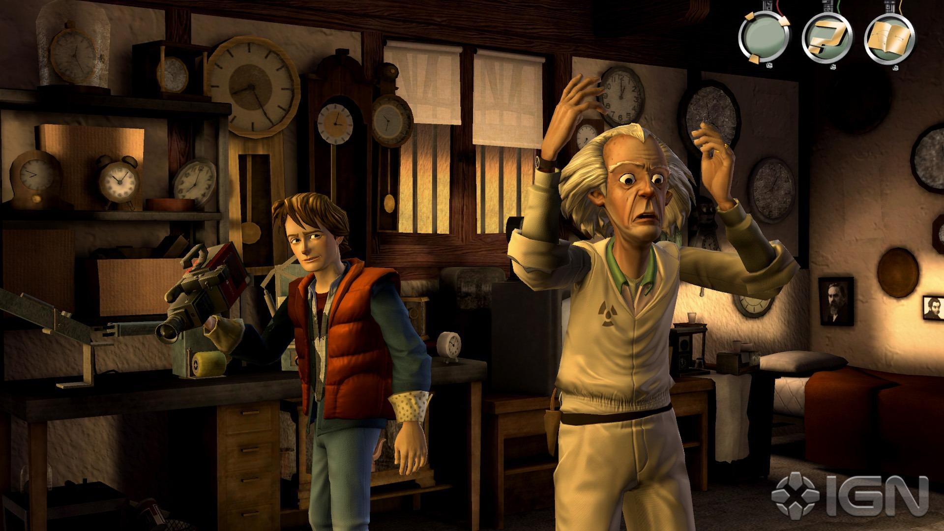 Primeras imágenes de Back to the Future el videojuego 4