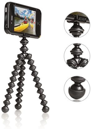 El trípode GorillaPod, ahora para iPhone 4 1