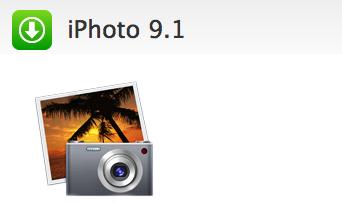 Actualización: iPhoto 9.1 1