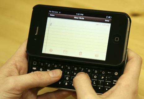 Primera imagen del iPhone 4 CDMA de Verizon 7