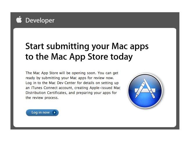 Apple ya permite el envío de aplicaciones para la Mac App Store 1