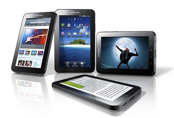 Vídeo demostración del Samsung Galaxy Tab, competidor del iPad 5