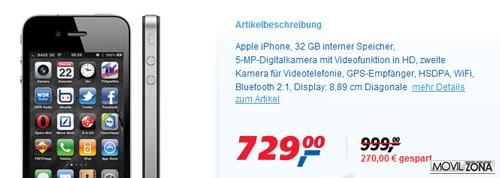 Encuesta revela, que los usuarios están satisfechos con el iPhone 4 4