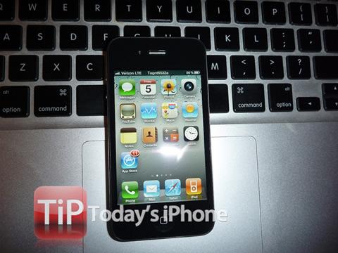 Primera imagen del iPhone 4 CDMA de Verizon 1