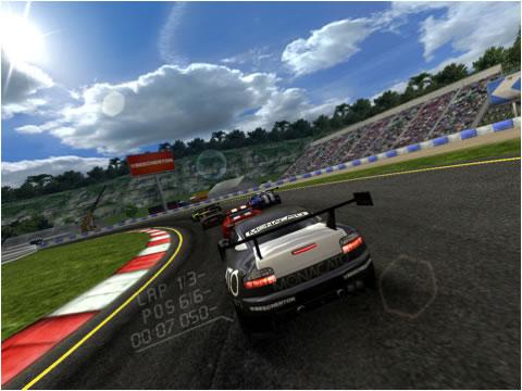 El juego de carreras Real Racing HD, es compatible con iOS 4.2 2