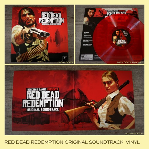 Soundtrack de Red Dead Redemption en vinilo 1