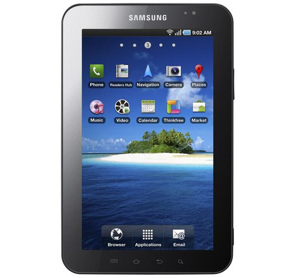 Vídeo demostración del Samsung Galaxy Tab, competidor del iPad 6