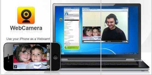 Convierte tu iPhone en camara web inalámbrica 1