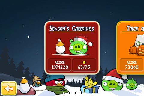 Ya está disponible Angry Birds Seasons en la App Store 2