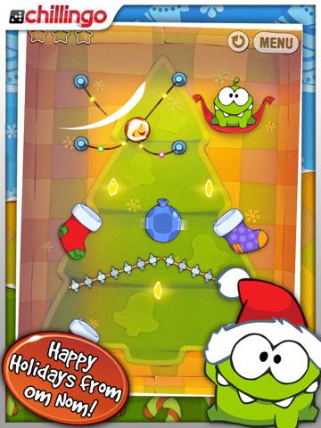 El adictivo juego Cut The Rope recibe una actualización navideña 1