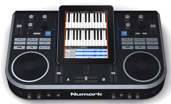 Numark ha creado un prototipo de una estación para DJs, con soporte para iPad 1