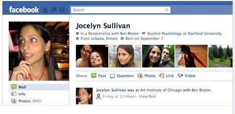 Nuevos perfiles en Facebook 2