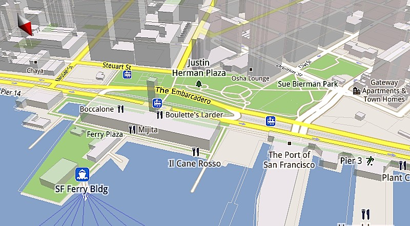 Google Maps 5 llega totalmente renovado 2