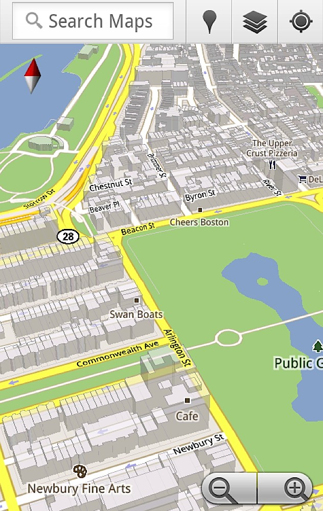 Google Maps 5 llega totalmente renovado 4