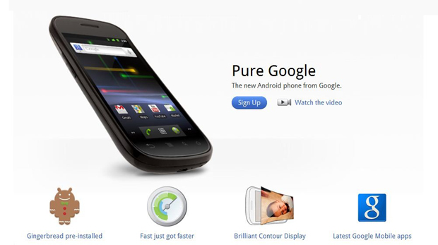 Google anuncia oficialmente Nexus S 1