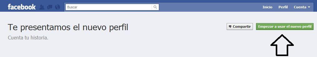 Nuevos perfiles en Facebook 1