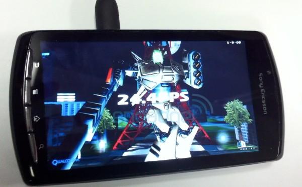 Benchmark del PlayStation Phone 6