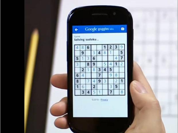 Nueva versión de Google Goggles resuelve sudokus en un segundo 1