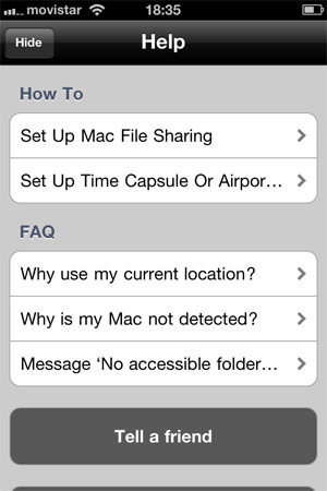 Transfiere tus fotos del iPhone a tu Mac por Wifi con PhotoToMac 1