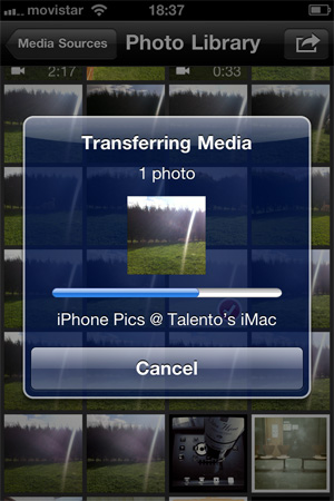 Transfiere tus fotos del iPhone a tu Mac por Wifi con PhotoToMac 12