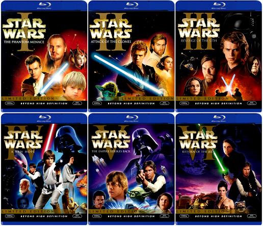 La espera ha terminado: Star Wars por fin en Blu-Ray 2
