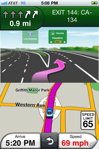GPS en el coche con el iPhone 3G 6