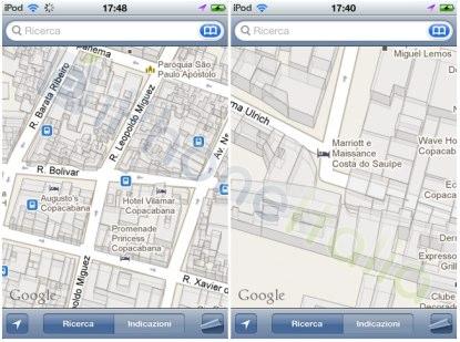 Mapas 3D en iOS 4.3 beta 2 1