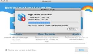 Skype llega a la versión 2.5.0 para Android 6