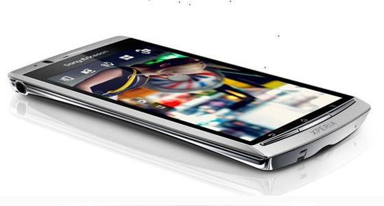 Primer vistazo al Sony Ericsson Xperia Arc 1
