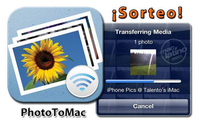 Sorteo de 10 licencias de PhotoToMac para iPhone, iPad y iPod touch 2