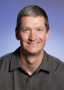 Apple ofrece a Tim Cook un millón de acciones 4