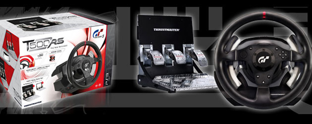 Volante Thrustmaster T500 RS exclusivo para GT5 2
