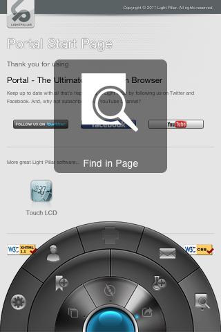 Portal: Un innovador navegador para iPhone 1