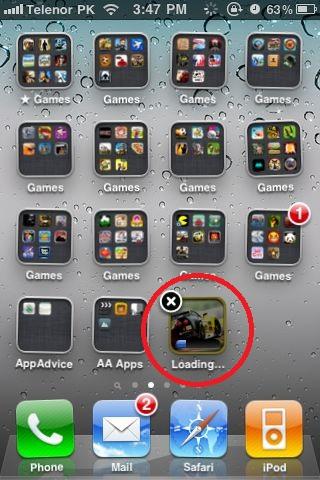 iOS 4.3 permitirá cancelar nuestras descargas de la App Store 1