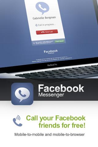 Facebook Messenger permite chatear o hablar gratis con tus contactos de la red social 1