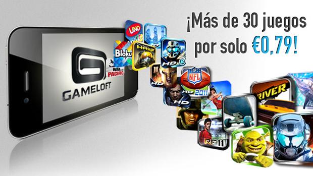 Gameloft pone en promoción más de 30 juegos 1