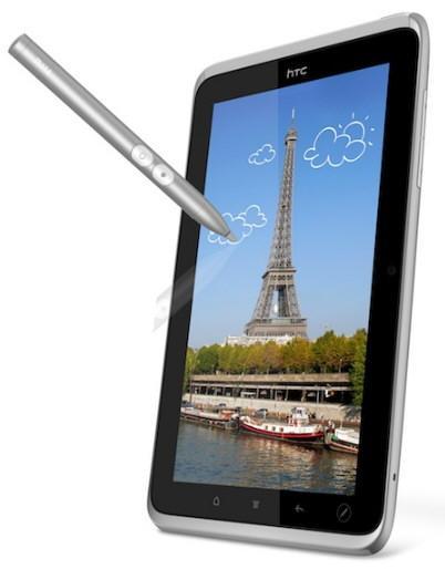 Se presenta un nuevo rival para el iPad, HTC Flyer 3
