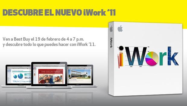 iWork se actualiza a la versión 1.2 en el iPad 6