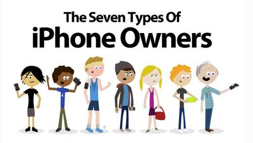 Infografia: 7 tipos de usuarios del iPhone 2