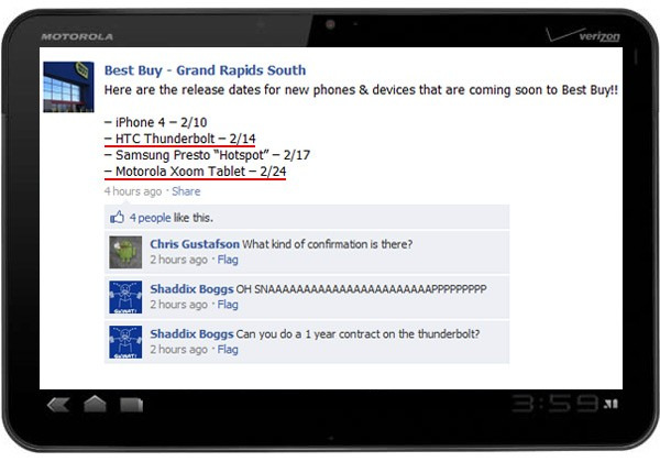 Facebook 3.1.2 para iPhone y iPod touch 8