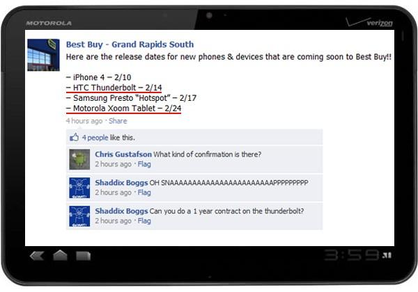 Aplicación de Facebook para iPhone se actualiza a la versión 3.4.1 6