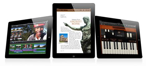 Apple publica los vídeos del funcionamiento de iMovie y Garageband en el iPad 2 1