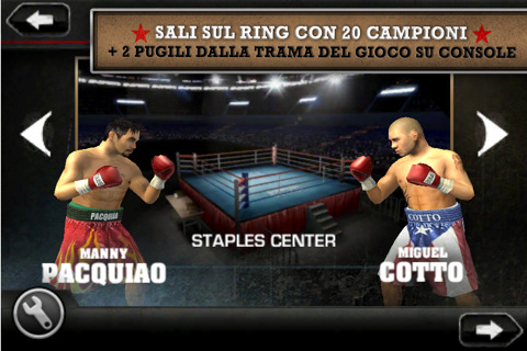EA Sports lanza Fight Night Champion para iPhone e iPod Touch 1