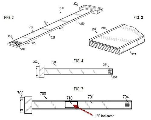 Apple patenta un cable USB plano 1