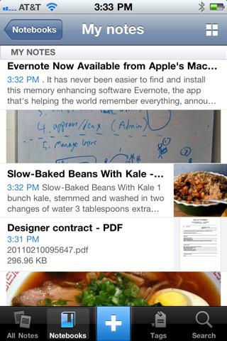 Evernote 1.5.0 para Mac OS X 5