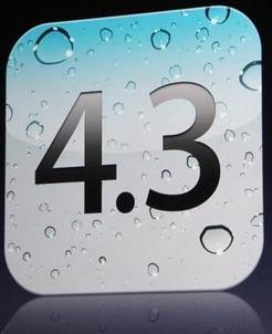 Ya está disponible para descargar iOS 4.3 2