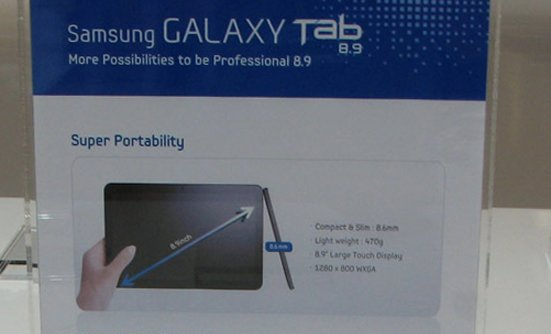 Vídeo demostración del Samsung Galaxy Tab, competidor del iPad 2