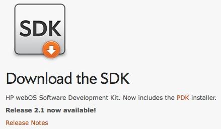 SDK de webOS 2.1 está listo para descargar 1