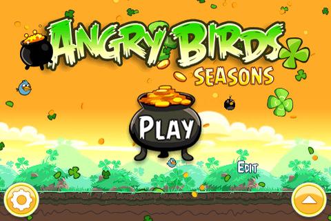 Angry Birds Seasons, Edición día de San Patricio ya está disponible para descarga 2